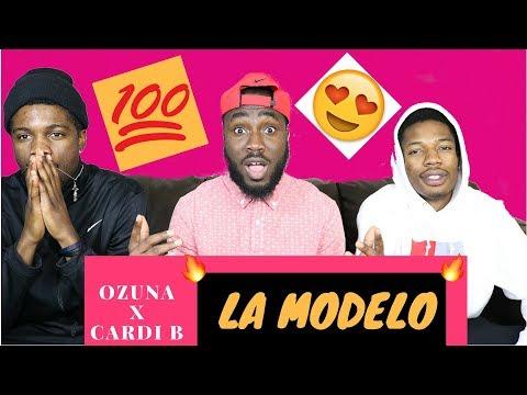 Ozuna - La Modelo Ft Cardi B | Video Reaction