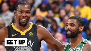 Kyrie won't be a game-changer for the Nets unless KD or another star joins him - Jalen Rose | Get Up