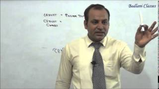 IDT - Indirect Tax - Central Excise Act, 1944 - Lecture 1