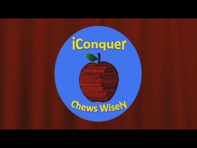 iConquer Chews Wisely - English
