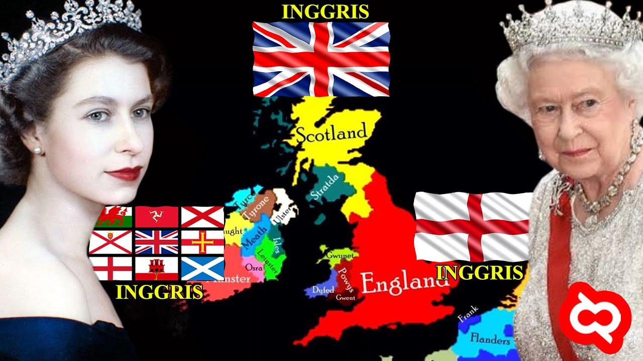 Heran Inggris Kok Ada 3: United Kingdom, Britania Raya dan England? Ini Perbedaannya..