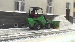 Avant Rotary Broom for Snow Removal Thumbnail