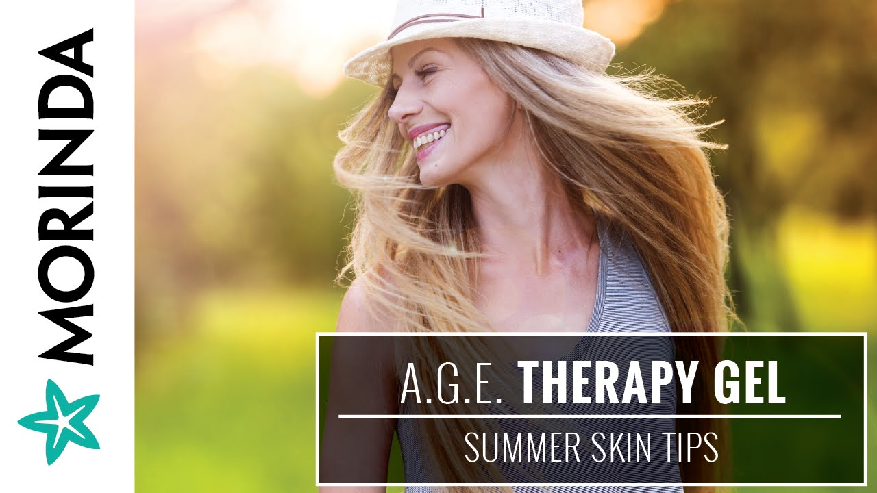 The Daily Buzz Summer Skin Tips Ft Age Therapy Gel Youtube Truage