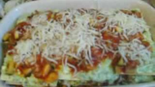 Zucchini Spinach Lasagna