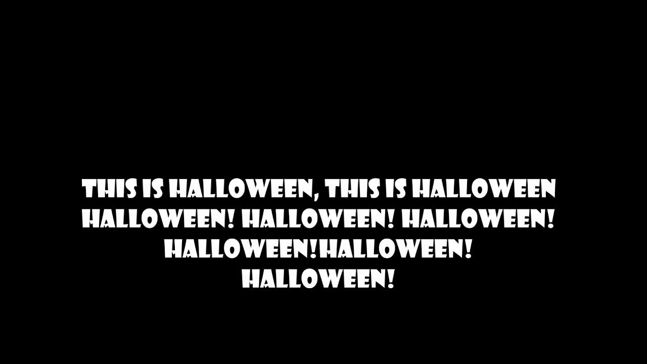 marilyn manson - this is halloween - lyrics - youtube