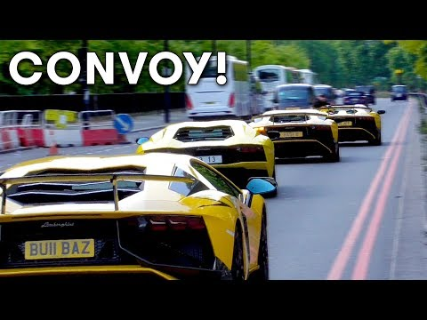 The Arab Supercars Invasion in London September 2017 Part 2