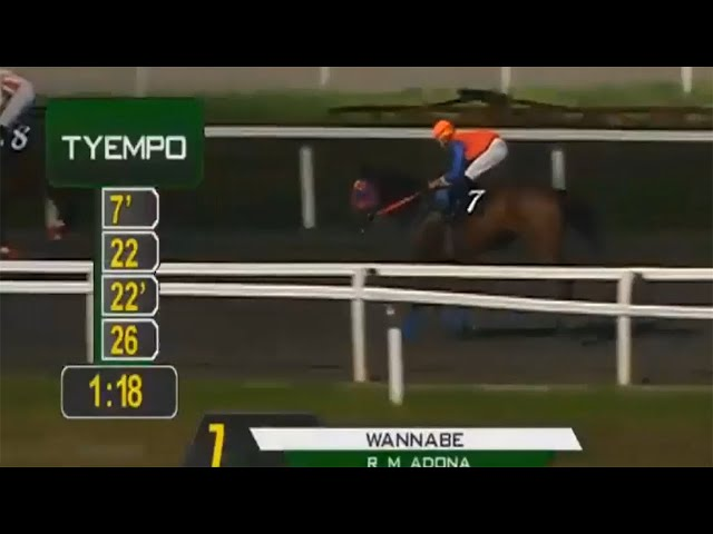 WANNABE - PRCI RACE 7 JANUARY 28, 2020 - BAYANG KARERISTA HORSE RACING AT SANTA ANA PARK