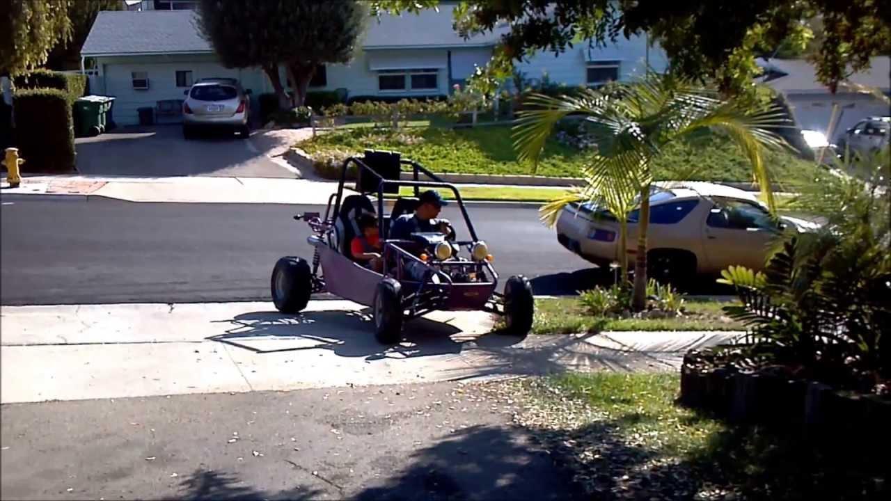 2006 Joyner Viper 250cc First Buggy Ride