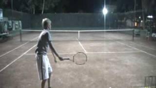 Mikhail DeWolf College Tennis Recruiting Video