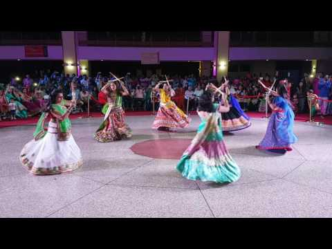 Nagada sang dhol full video from: raasleela group  ( accra navratri mandal)