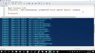 Deploying and managing Microsoft Dynamics 365 for Customer Engagement with PowerShell (Repeat)