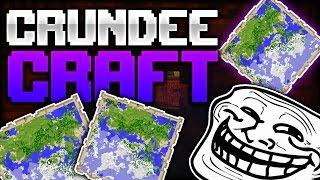 Minecraft: THE MAP OF MAGIC - CRUNDEE CRAFT