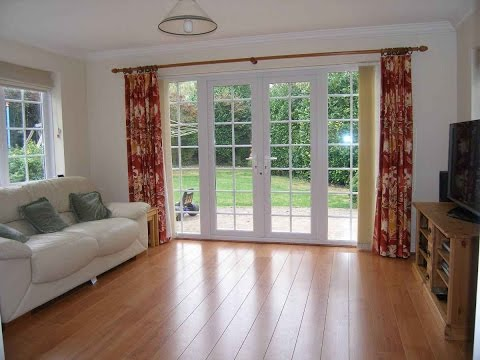 Wood french doors and windows designs for home youtube for Window design colour