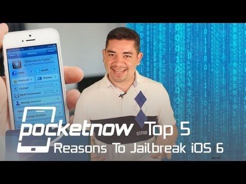 Top 5 Reasons To Jailbreak iOS 6   Pocketnow