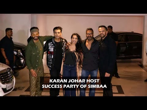 Karan Johar Host Success Party At Simba | Karan Johar Host Success Party Of Simbba | TVNX Hindi Mp3