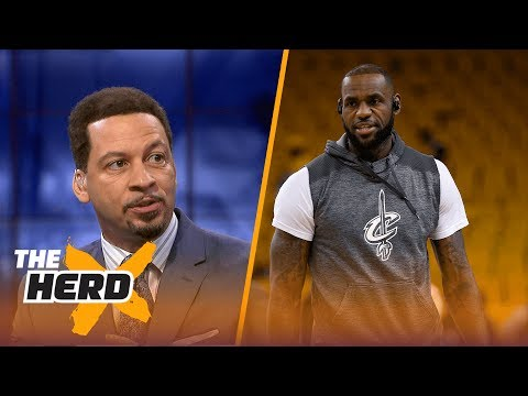 LeBron James and Lonzo Ball teaming up? Chris Broussard says it could happen   THE HERD