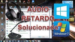Quitar Retardo De Voz Del Micrófono Windows 7 8 ( Sacar Retraso de Voz )