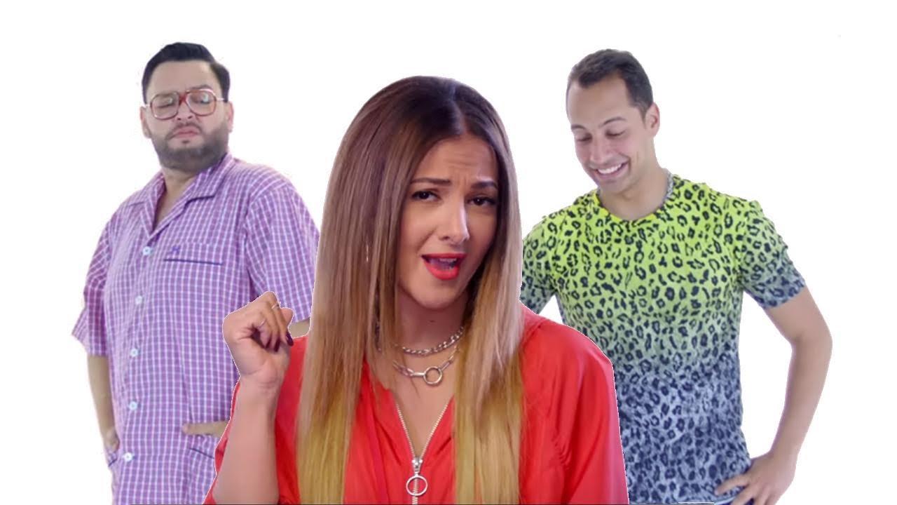 دنيا سمير غانم تكشف طريقة اعجاب البنت بالرجل في اغنية ازاي البنت تحبك  | Donia Samir Ghanem 2019