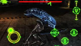 avp evolution hd walkthrough alien mission 8 loading facility