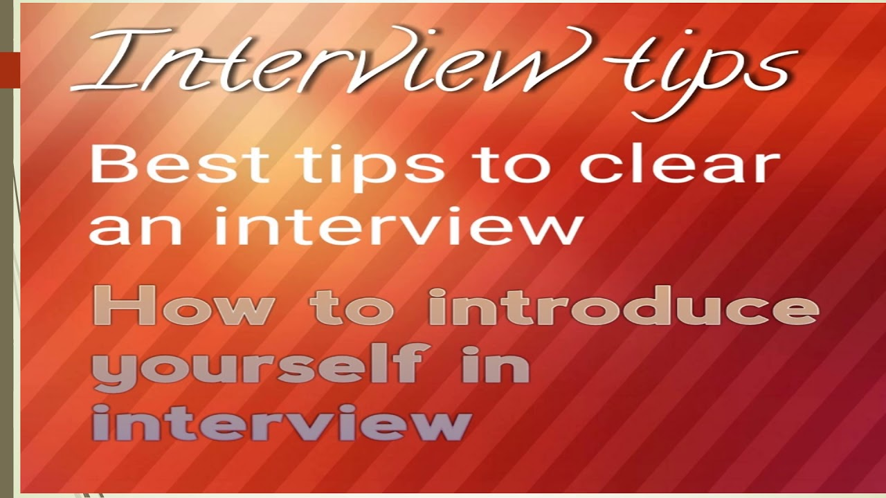 Interview Tips: Awes APS How To Introduce Yourself/KVS/NVS/general Common  Questions In Interview