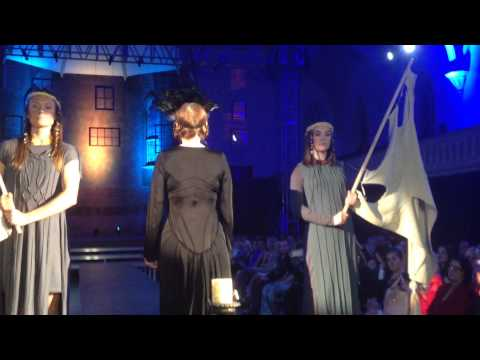 Fashion Show: Electric City Couture at UPH Saratoga Match 2015