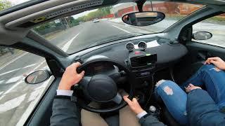 Smart Fortwo Cabrio (2004-2007) - POV Drive [4K] #SmartFortwo