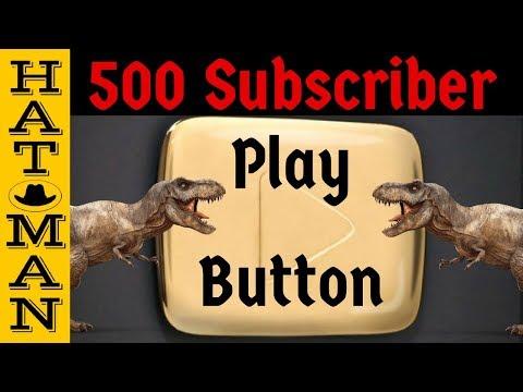 500 Subscriber Play Button
