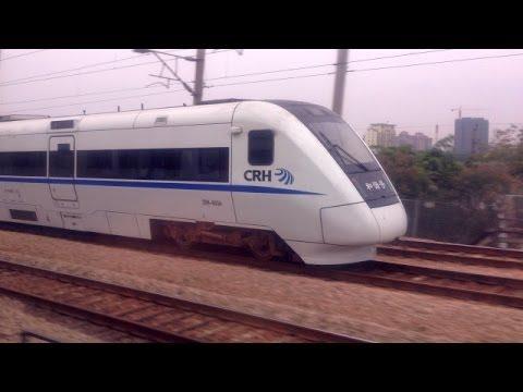 Chasing High-Speed Train Guangzhou East - Shenzhen