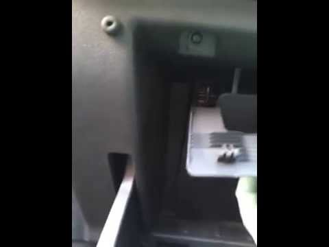 Vauxhall corsa 2009 fuse box very secret location - YouTube