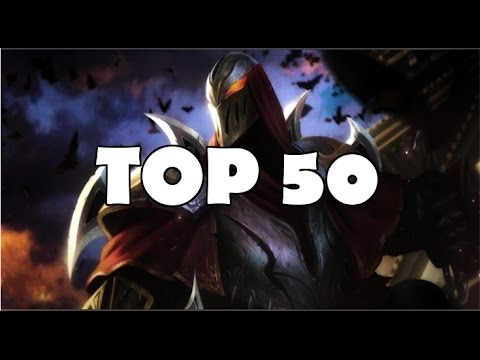 Top 50 Zed Plays in League of Legends history