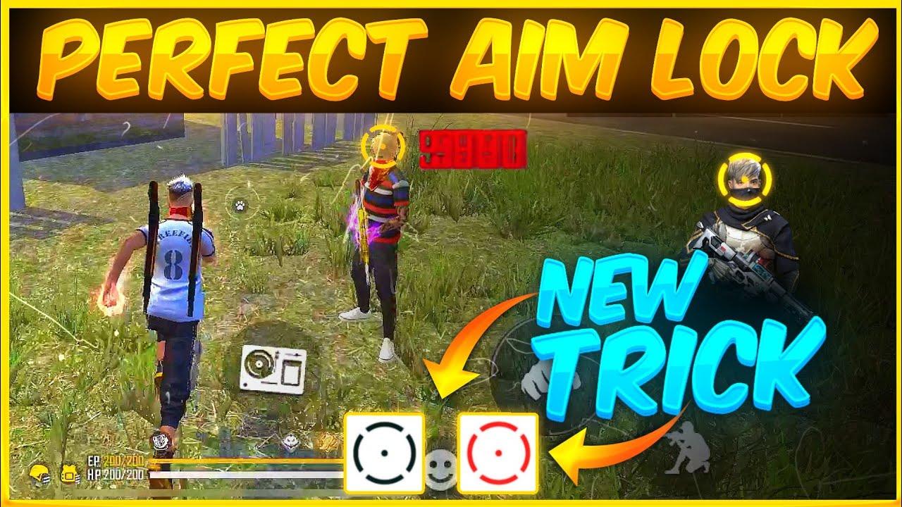Perfect Aim Lock Trick For Headshot 🔥 One Tap | Free Fire Aim Lock Settings | How To Control Aim