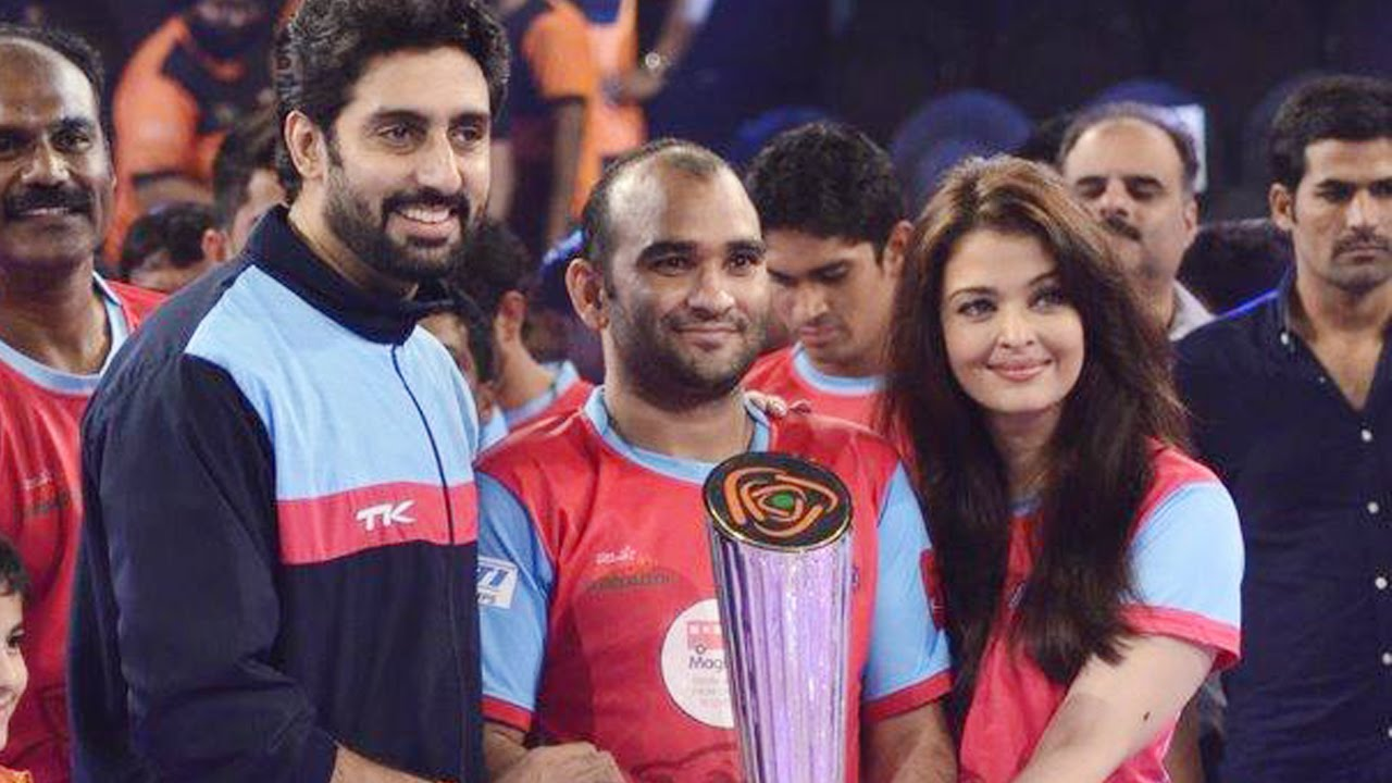 Abhishek Bachchan On Jaipur Pink Panthers Win | Pro-Kabaddi League ...