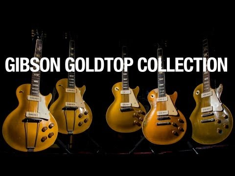 The Gibson Goldtop Collection (The Evolution of the Les Paul)