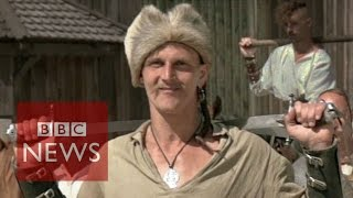 The warrior Cossacks of Ukraine - BBC News