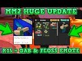 ROBLOX   MURDER MYSTERY 2  BRAND NEW HUGE UPDATE  R15   NEW DAB   FLOSS EMOTE   CRAZY GAMEPLAY