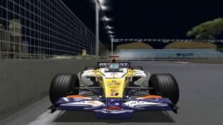 [F1C] ING Renault F1 Team R28 @ Marina Bay with Fernando Alonso (mod F1 Mania 2008) [HD]