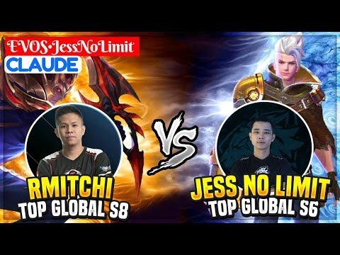 Jess No Limit Vs Rmitchi (Top Global S6 VS Top Global s8) EVOS•JessNoLimit Claude