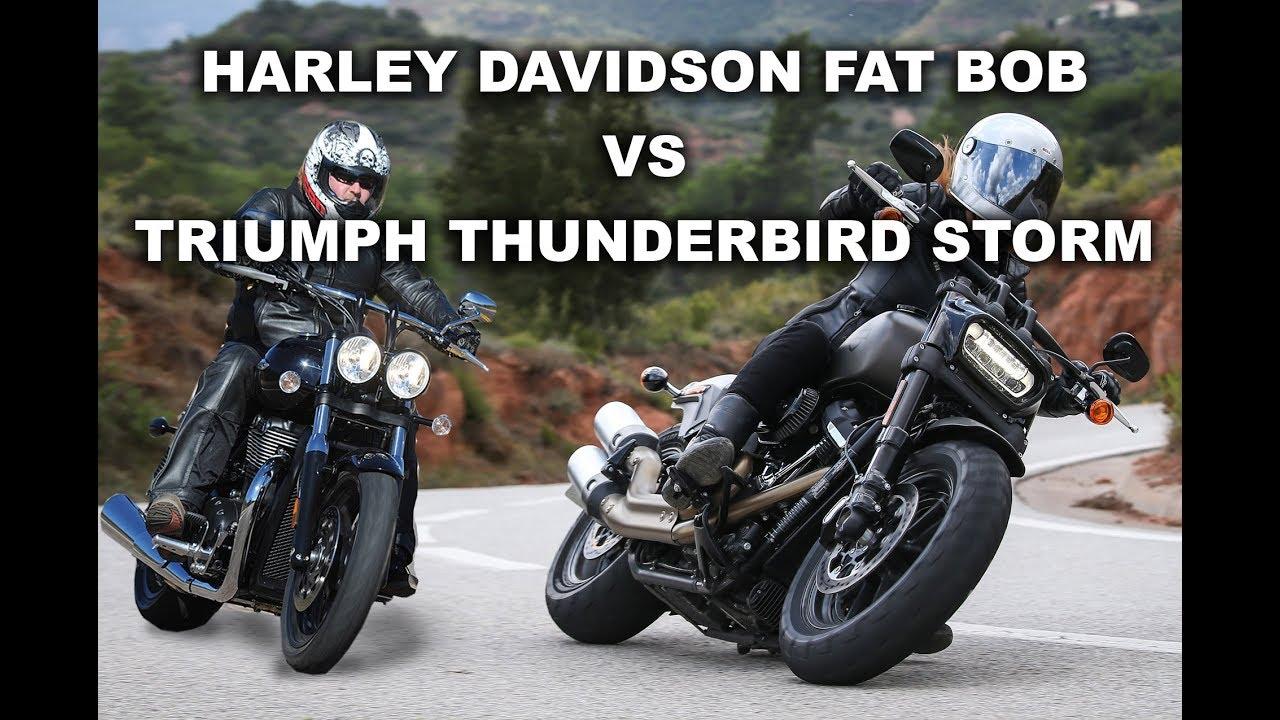 Triumph thunderbird vs harley