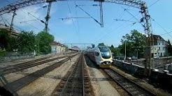 [Train driver's view] Zagreb GK - Dugo Selo - Koprivnica