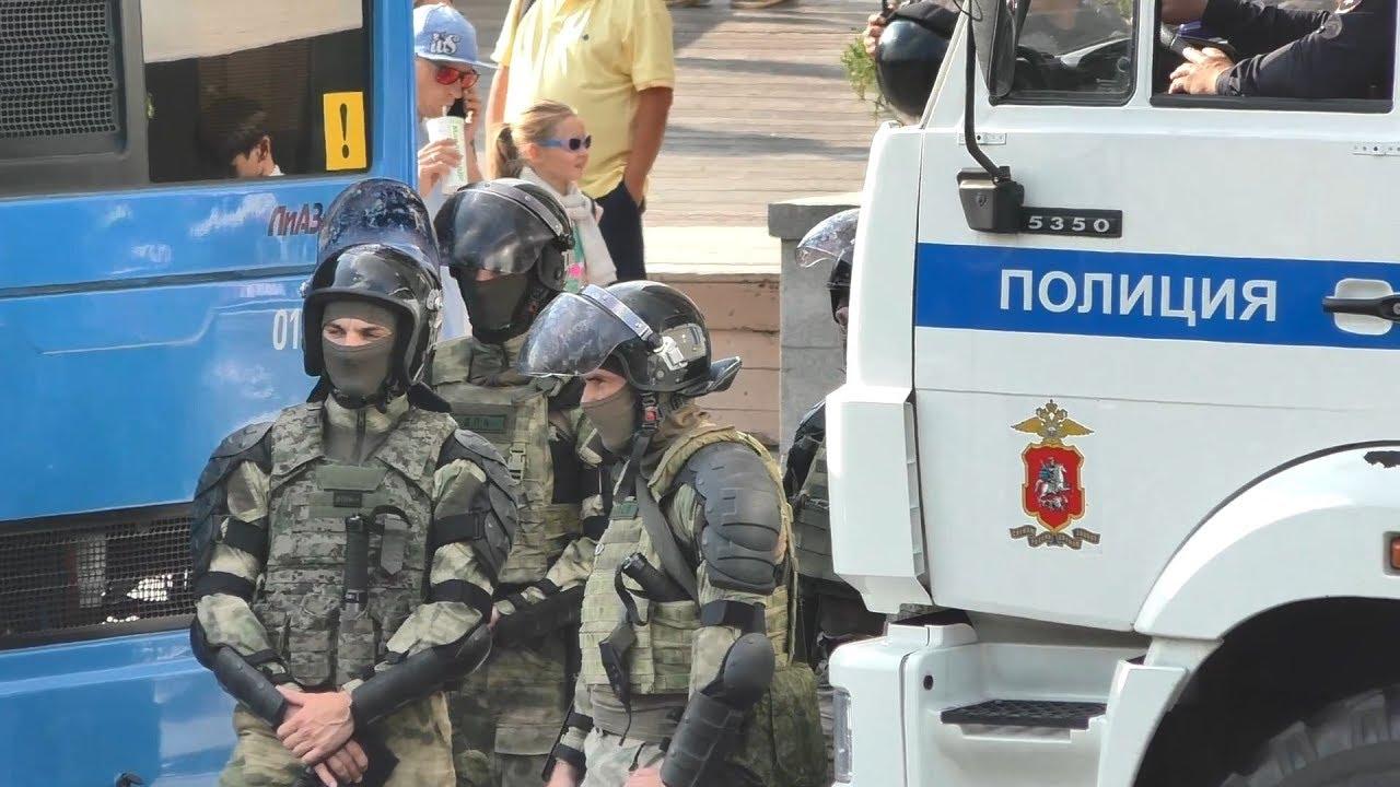Коротко о событиях с незаконного митинга маргиналов 31 августа