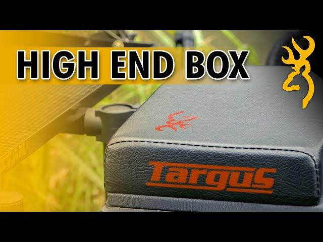 TARGUS 2020 SEAT BOX - Browning Fishing