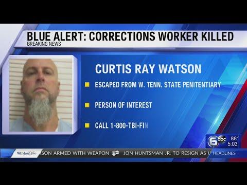 Blue Alert Curtis Ray Watson