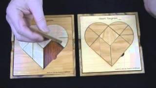 Heart Tangram Puzzle .wmv