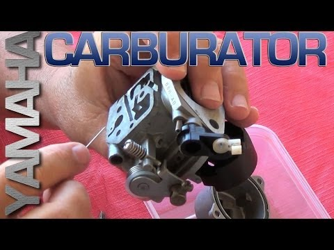 Yamaha  Carburator Detailed Cleaning