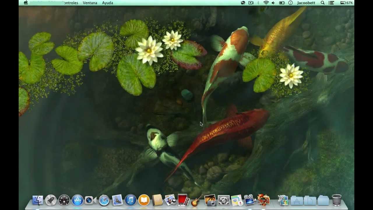 Mountain Iphone Wallpaper Fondos De Pantalla 3d Con Movimiento Sharks Koi Pond