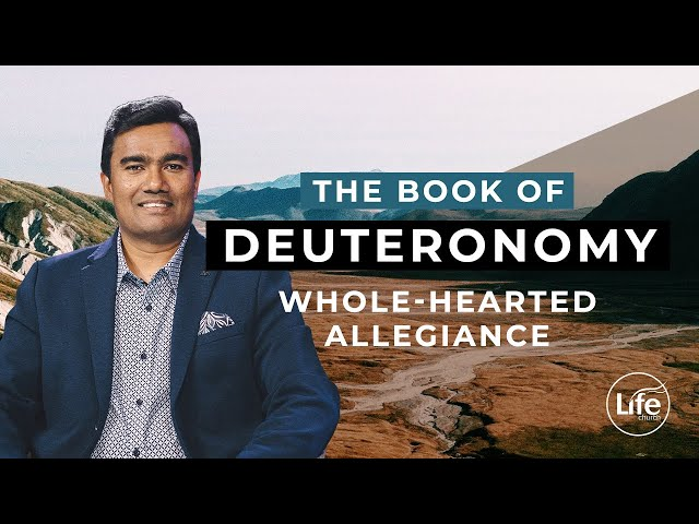 Deuteronomy 4 - Whole-Hearted Allegiance | Rev Paul Jeyachandran