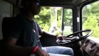 Me driving Mack dump truck