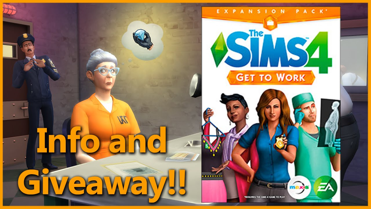 sims 4 giveaway the sims 4 get to work info and giveaway closed 1696