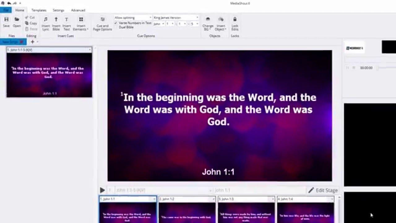 MediaShout vs  ProPresenter: which church presentation software?