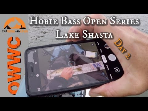 Hobie Bass Open Series On Lake Shasta - Day 2